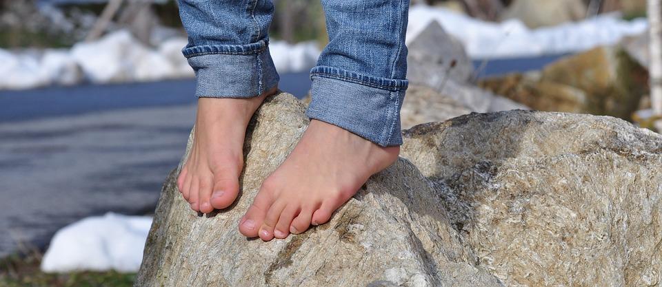 maux de pieds